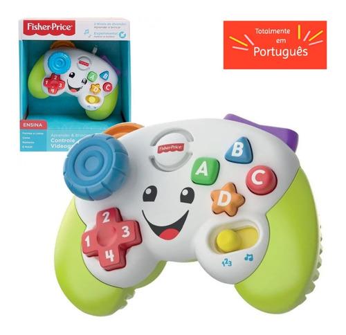 Brinquedo Primeira Infancia Controle Video Game Fisher Price