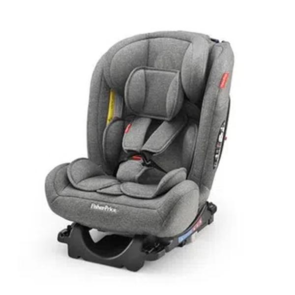 Cadeirinha Para Auto Isofix Fisher Price Cinza Bb325 0-36kg