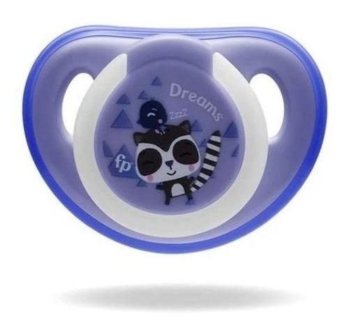 Chupeta Que Brilha No Escuro Fisher Price Tam 1 Azul 0+m