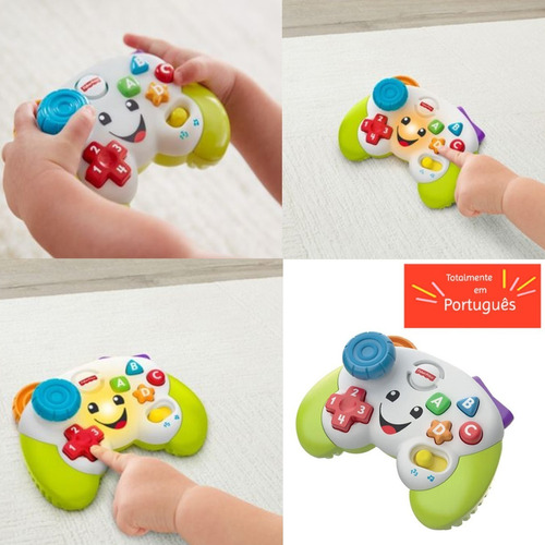 Controle Video Game Infantil Educativo Musical Fisher Price
