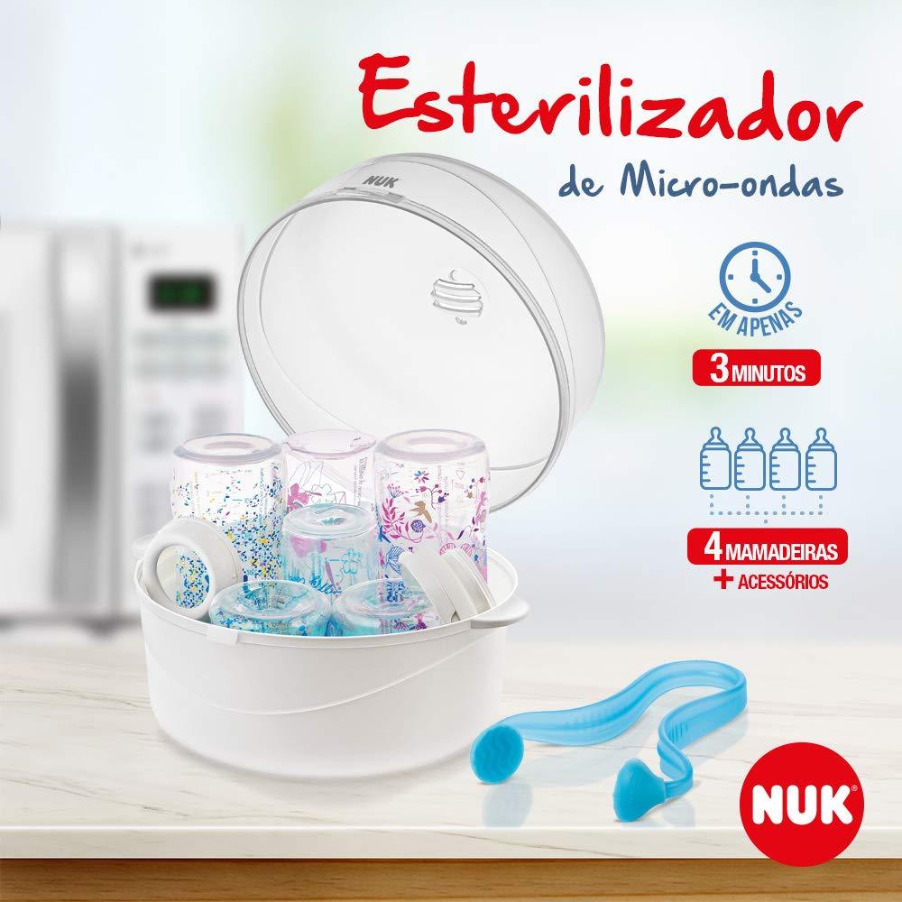Esterilizador De Mamadeira Para Microondas Nuk