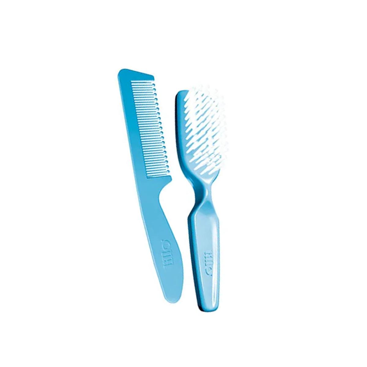 Kit De Higiene Para Recém Nascido Azul Lillo