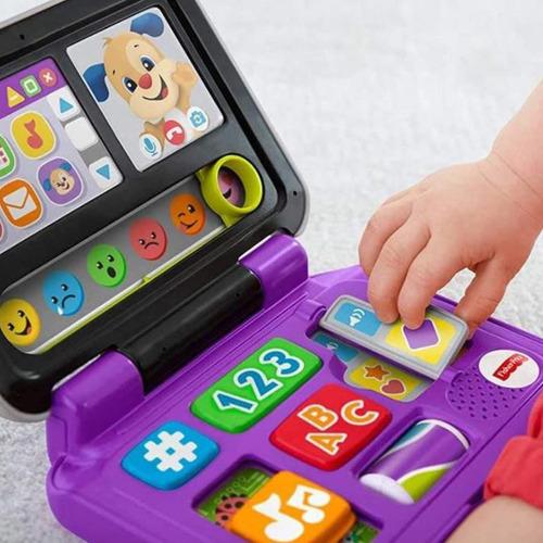 Laptop De Brinquedo Educativo Musical Com Luz Fisher Price