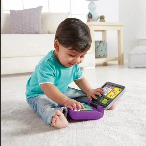 Laptop Infantil Educativo Musical Com Luz Fisher Price
