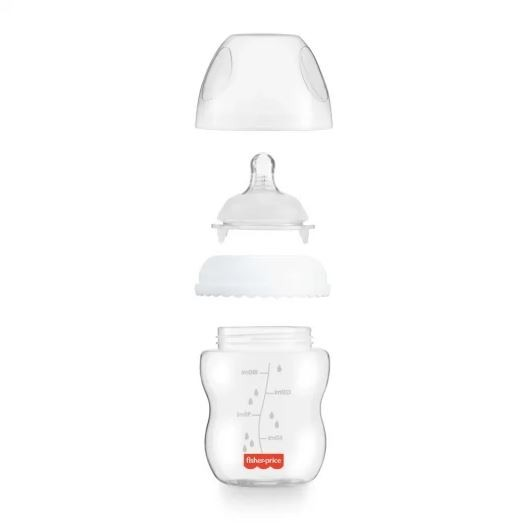 Mamadeira First Moments Clássica Neutra 330ml Fisher Price
