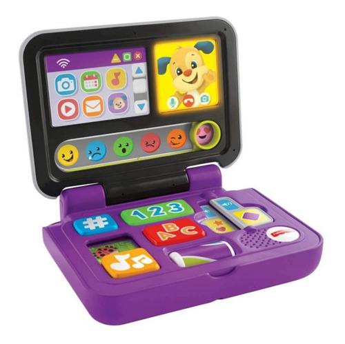 Meu Primeiro Laptop Fisher Price Mattel Clicar E Aprender