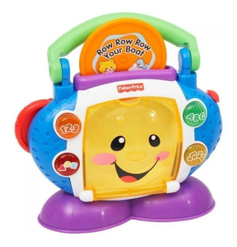 Presente Dia Das Crianças Cd Player Com Luzes Fisher Price