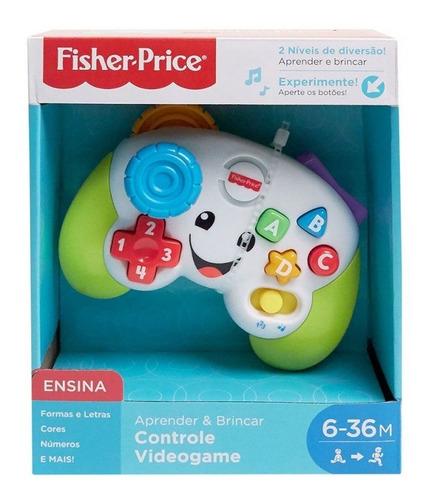 Presente Dia Das Crianças Controle Video Game Fisher Price