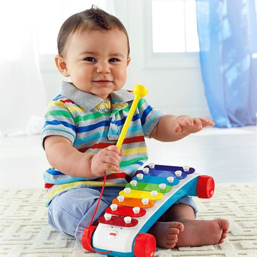 Presente Dia Das Crianças Xilofone Infantil Fisher Price