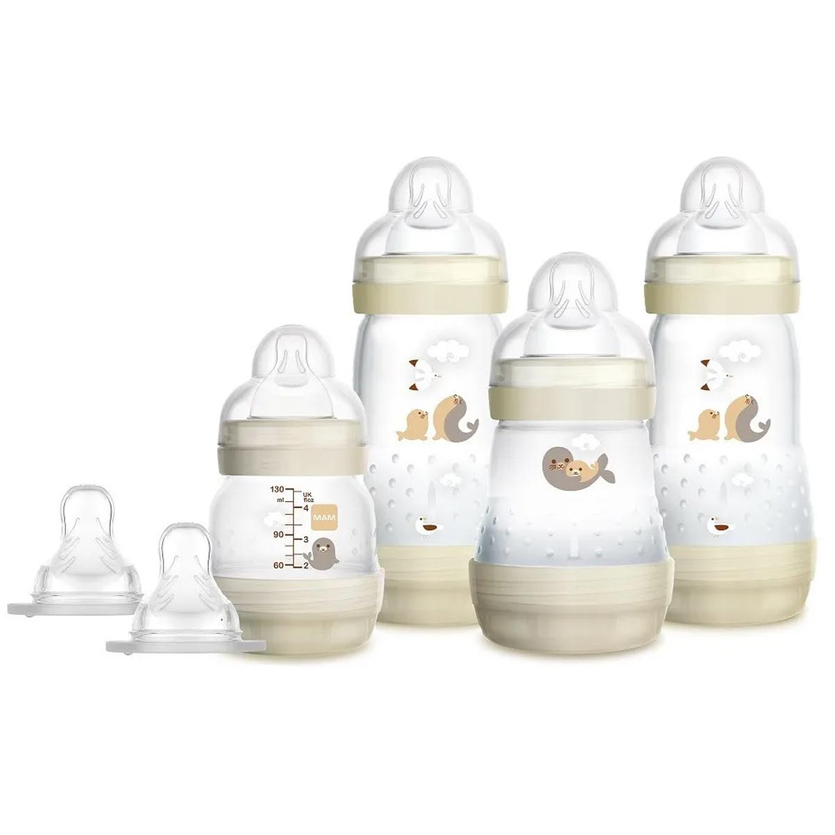 Presente Para Chá De Bebê Mamadeira Mam Neutra 0+ Meses