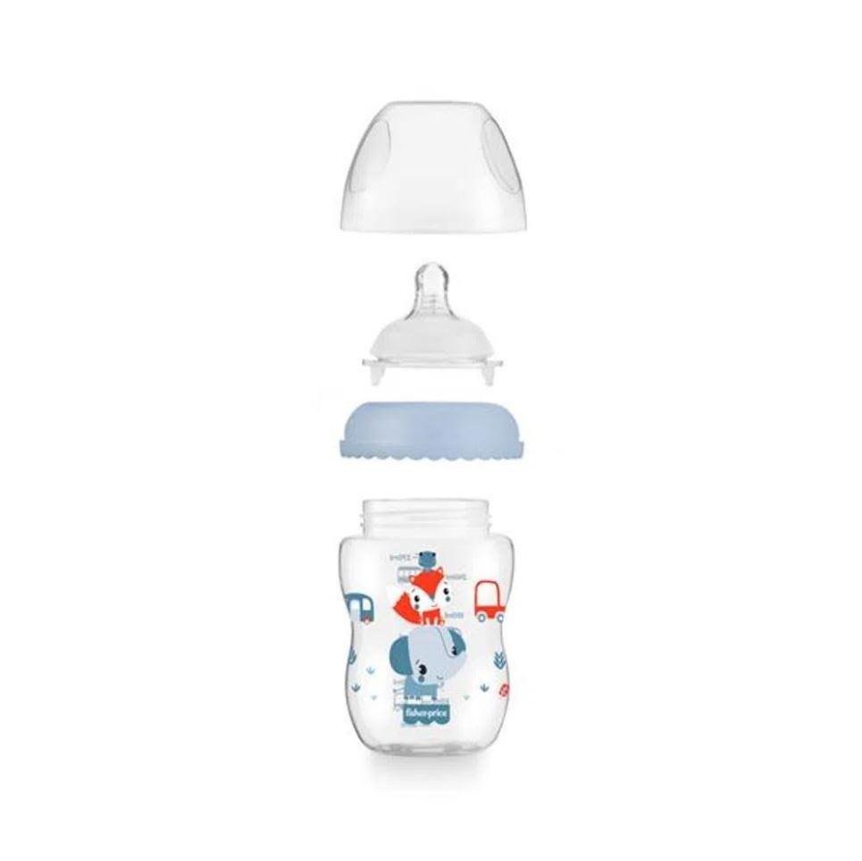 Presente Para Chá De Bebê Menino Mamadeira Fisher Price Azul