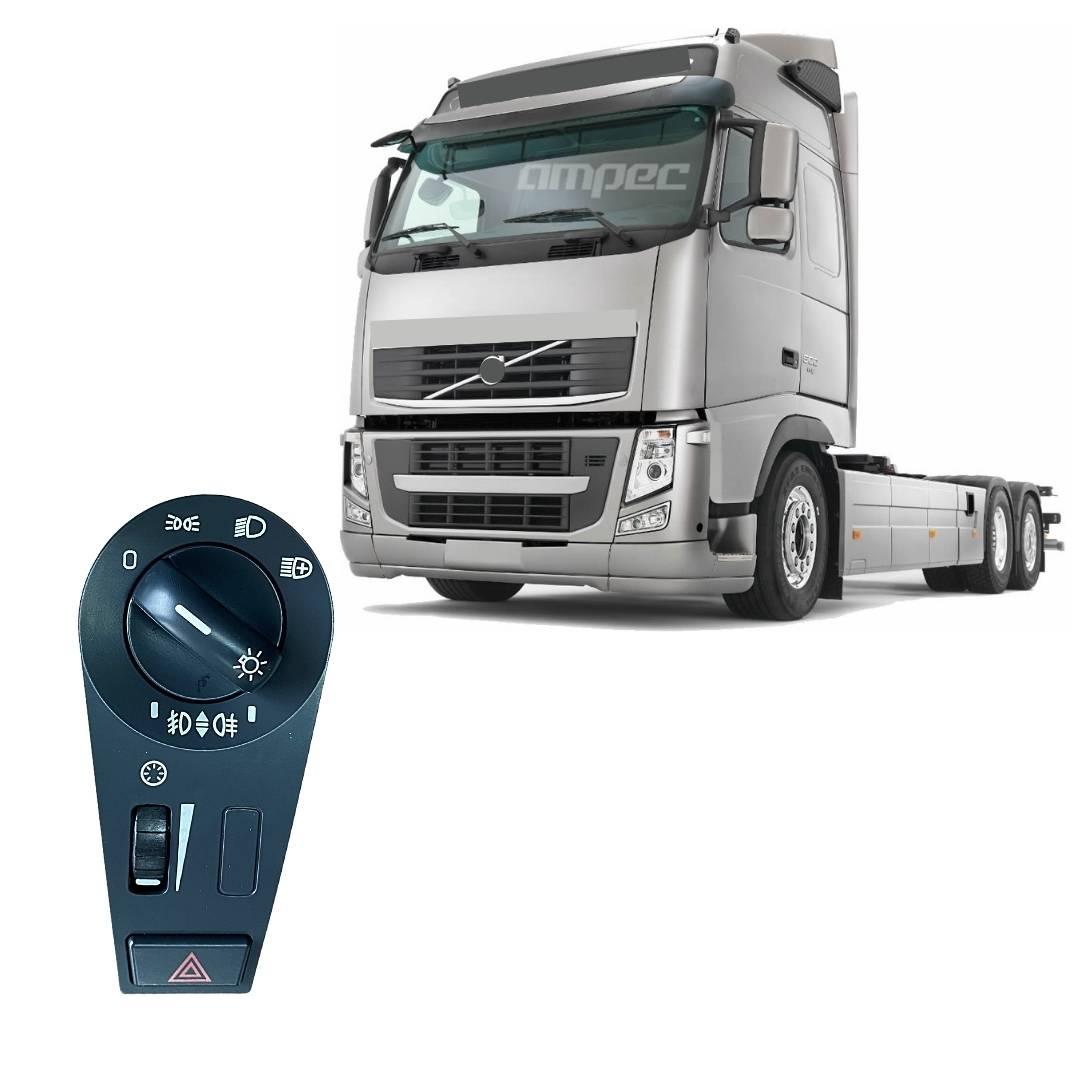 Botão Interruptor Farol Luz Alerta de luz Volvo FH FM NH