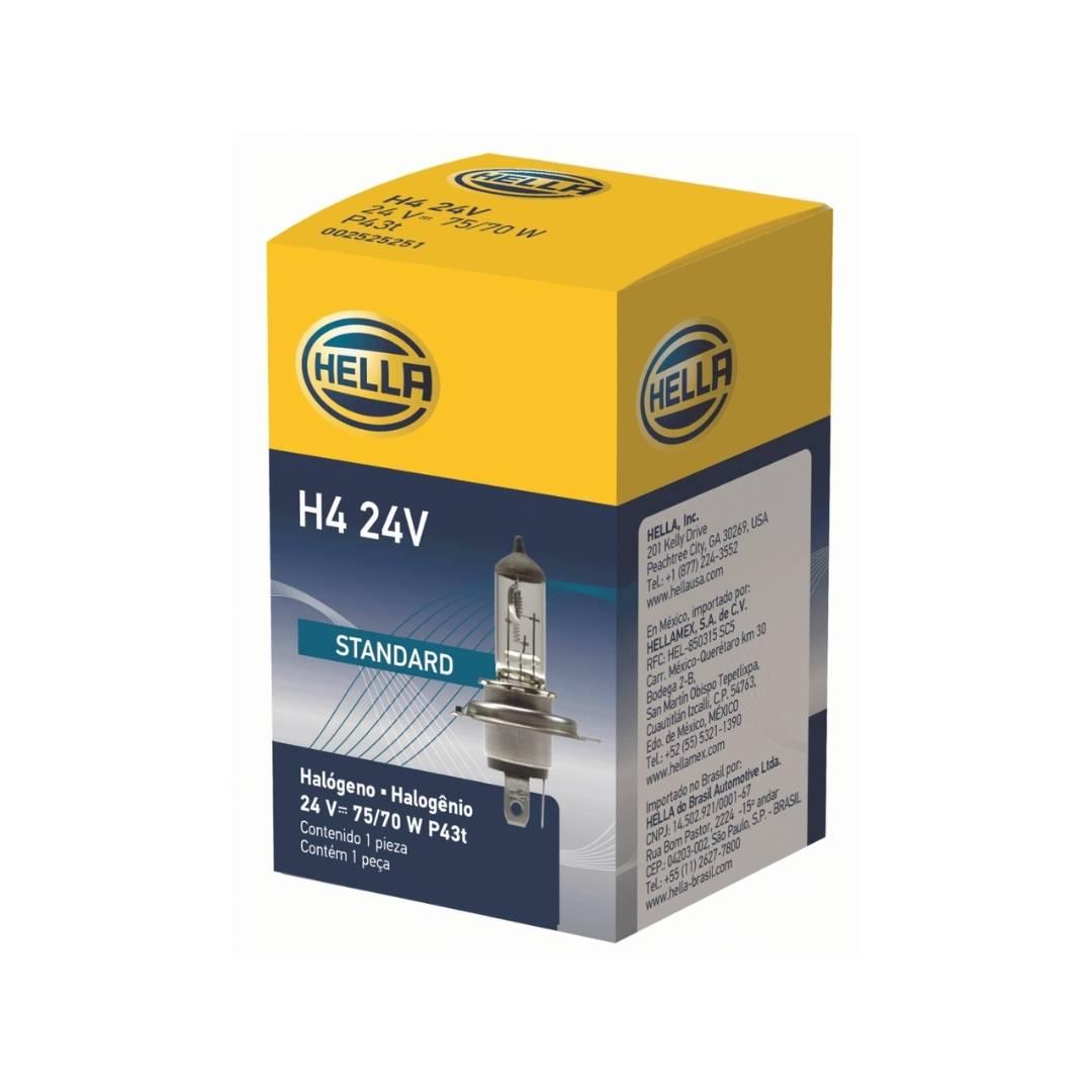 Lampada H4 24V - Hella