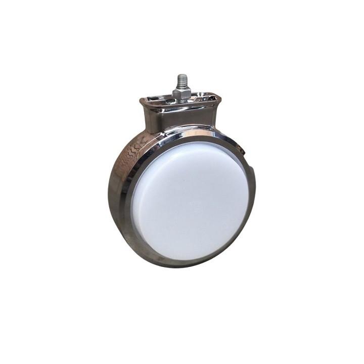 Lanterna Bojuda Foguinho Maria LED Cromada Bivolt Cristal