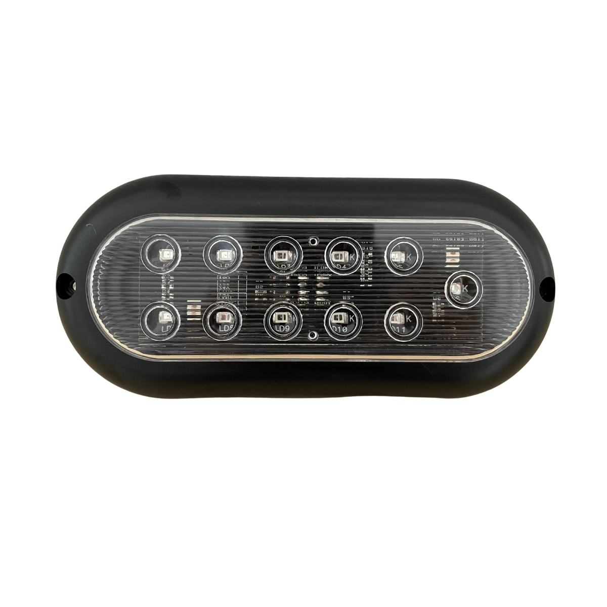 Lanterna Carreta Carretinha Reboque Jet Barco Cristal 12V