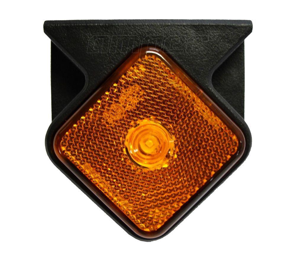 Lanterna Lateral Carreta Guerra LED Bivolt Braslux Original Com Suporte