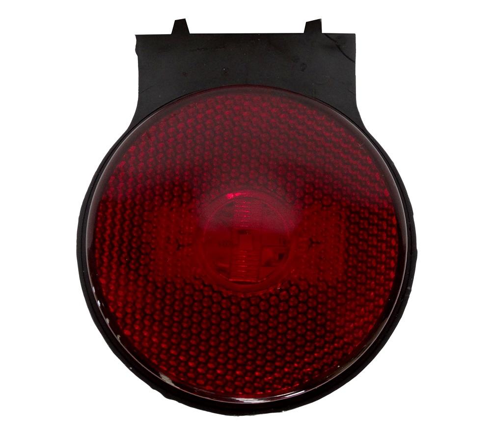 Lanterna Lateral Led Caminhão Carreta Com Suporte Vermelha P