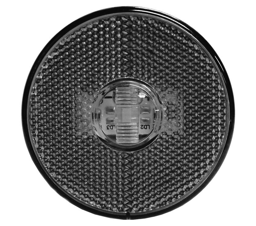 Lanterna Lateral LED Caminhão Carreta Sem Suporte Cristal G