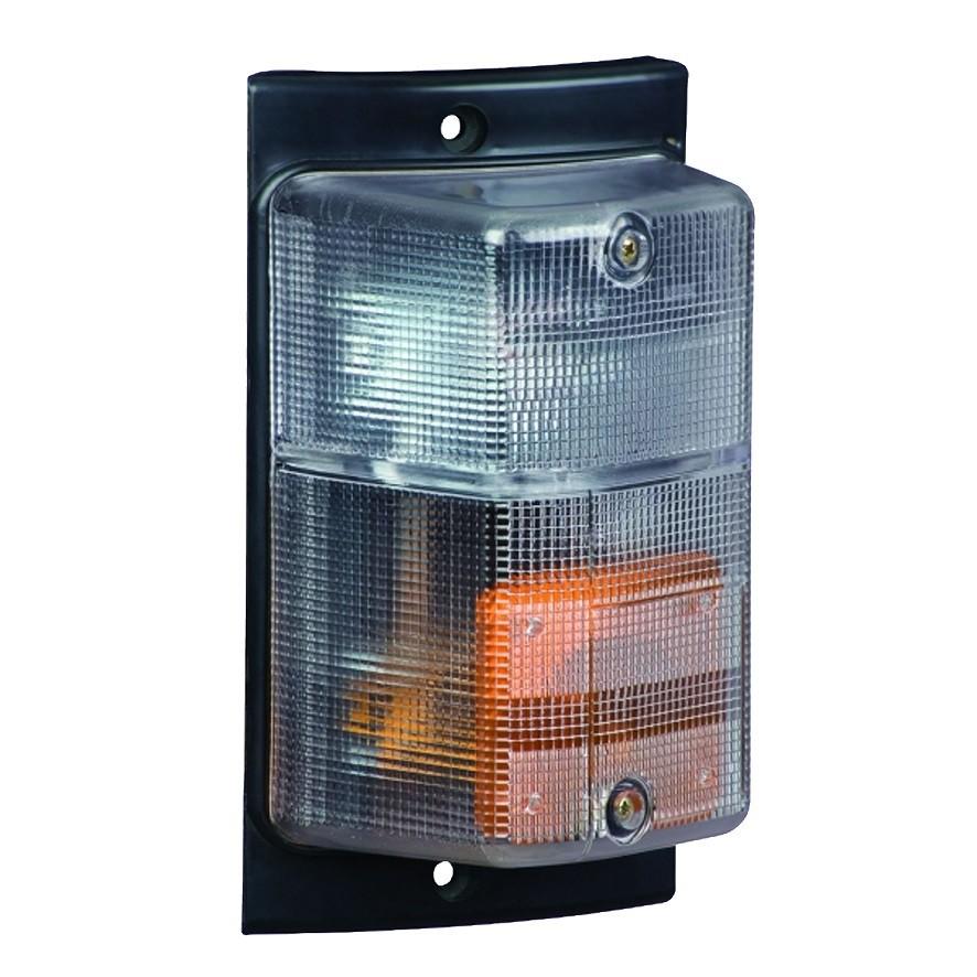 Lanterna Pisca Seta Caminhao Scania T/R 112 113 142 143 Cristal LE