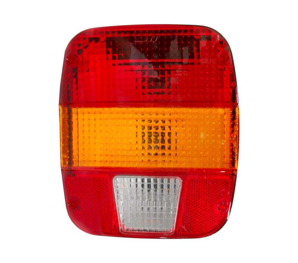 Lanterna Traseira Caminhão Ford VW Troller Marmita Esquerdo Com Vigia