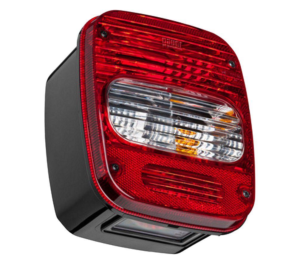 Lanterna Traseira Caminhão VW Troller Marmita Moderna Esquerdo Com Vigia