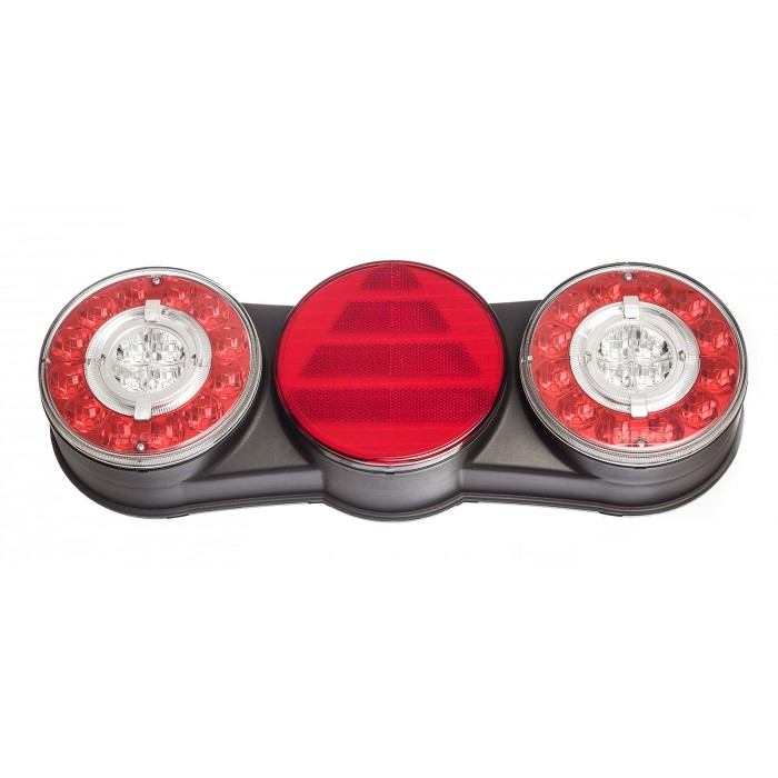Lanterna Traseira Facchini 6 com Guia de Luz LD Bivolt