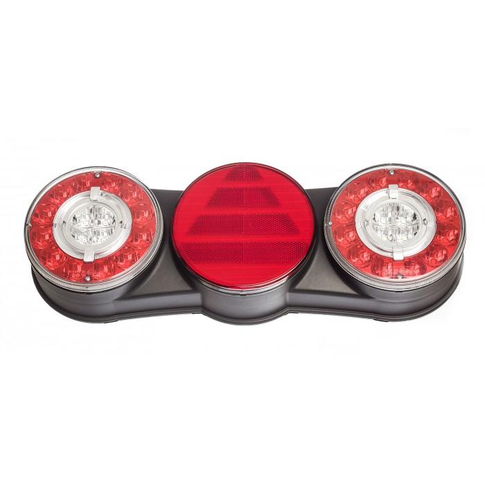 Lanterna Traseira Facchini 6 com Guia de Luz LE Bivolt