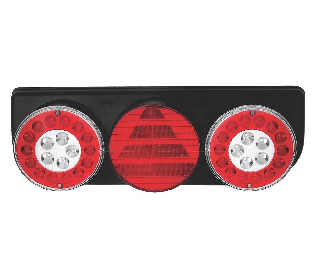 Lanterna Traseira Implemento Facchini Braspoint 4 IV LED Esquerdo 24V