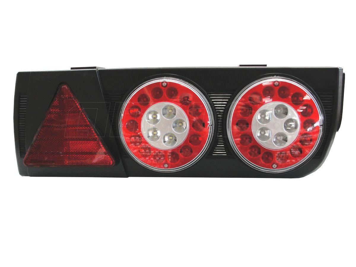 Lanterna Traseira Implemento Facchini Braspoint 5 V LED Direito 24V