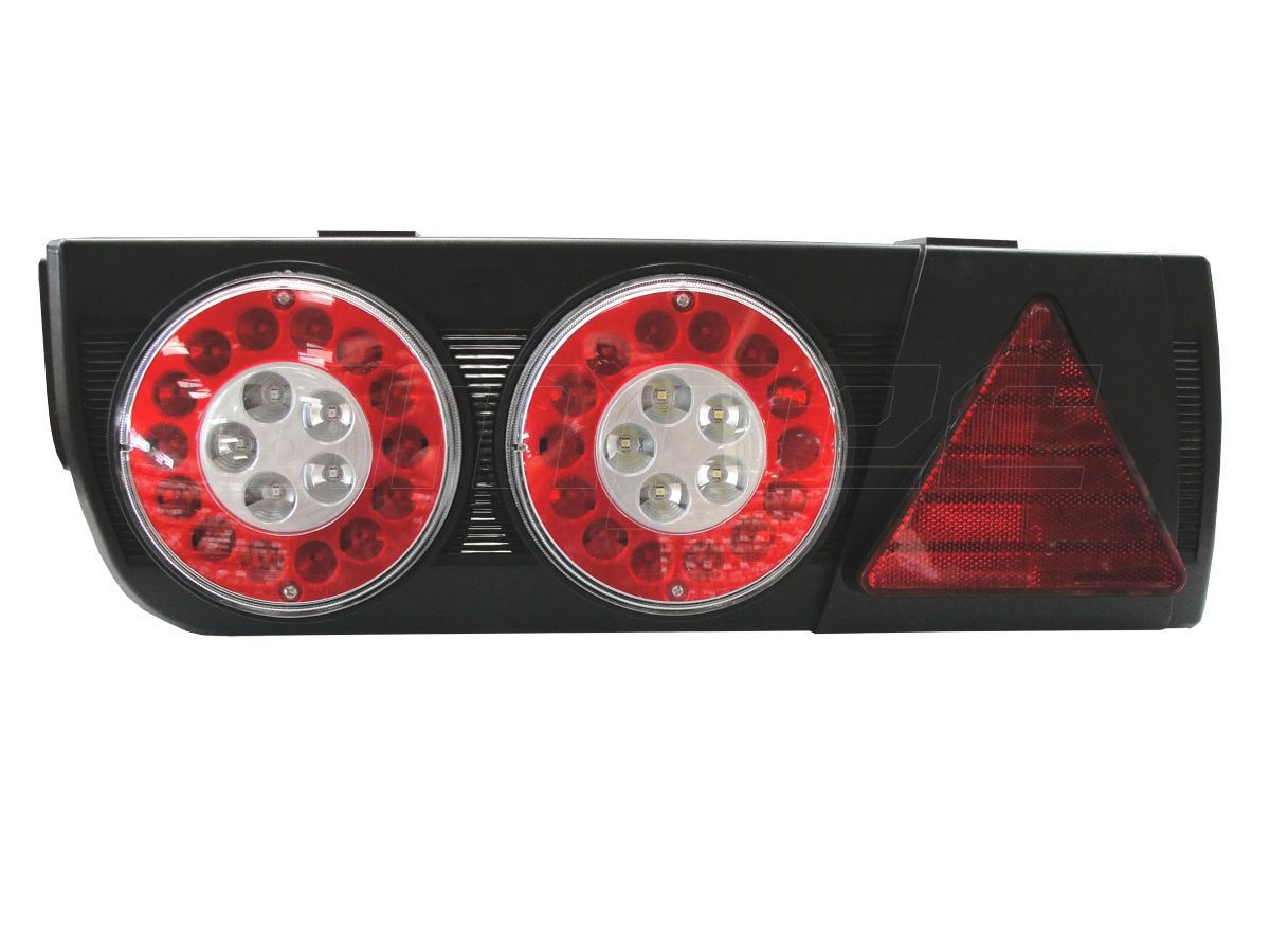 Lanterna Traseira Implemento Facchini Braspoint 5 V LED Esquerdo 24V