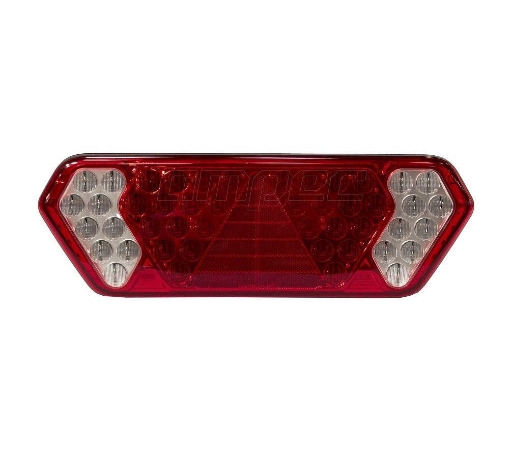 Lanterna Traseira Implemento Guerra LED 24V LD Diamond 2 Braslux Original