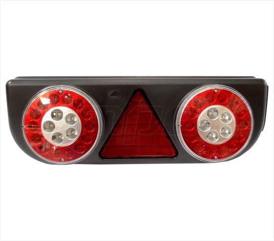 Lanterna Traseira Implementos Facchini Pastre Braspoint 3 III Direito LED 24V