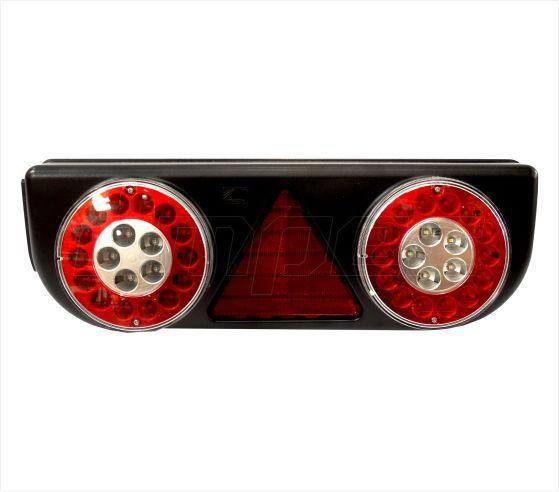 Lanterna Traseira Implementos Facchini Pastre Braspoint 3 III Esquerdo LED 24V