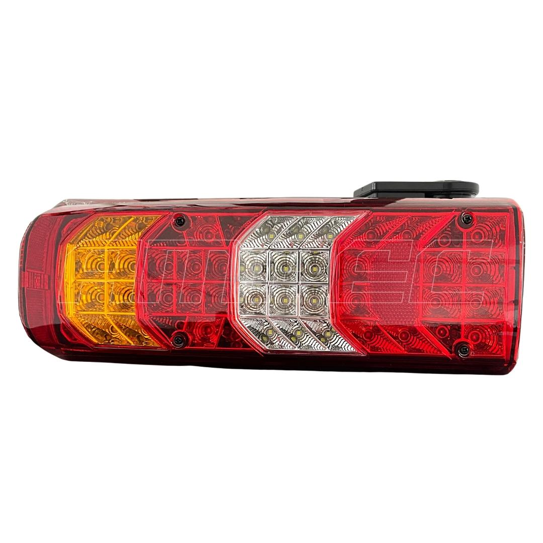 Lanterna Traseira Mercedes Axor Actros 24V LED LD CV Sirene