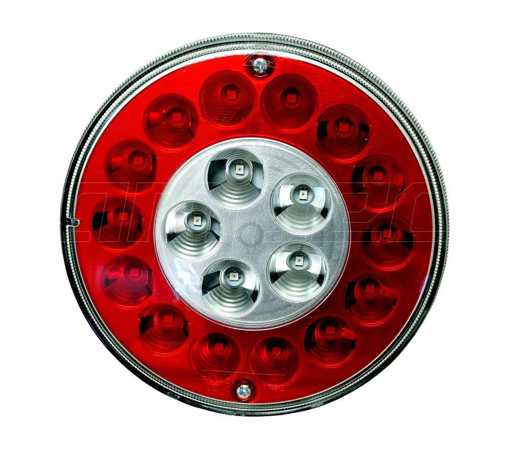 Lanterna Traseira Modulo Facchini Braspoint 3 4 III IV LED 24V Posicao Freio Pisca
