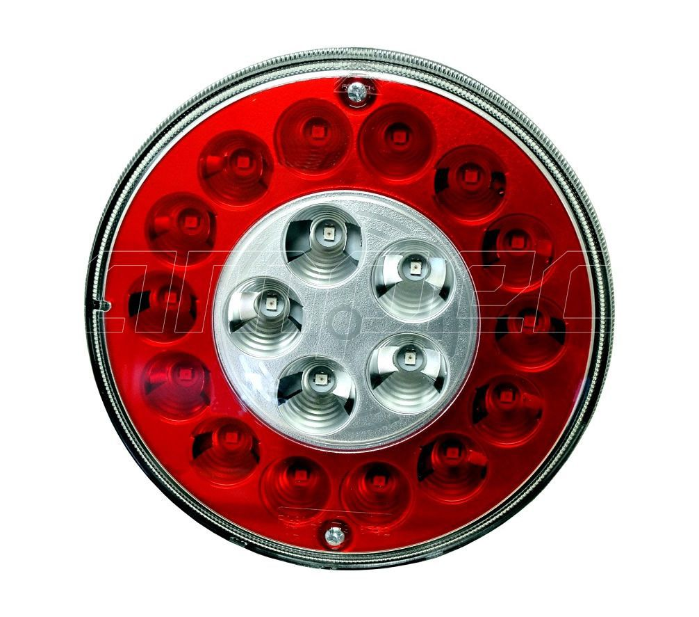 Lanterna Traseira Modulo Facchini Braspoint 3 4 III IV LED 24V Posicao Freio Re