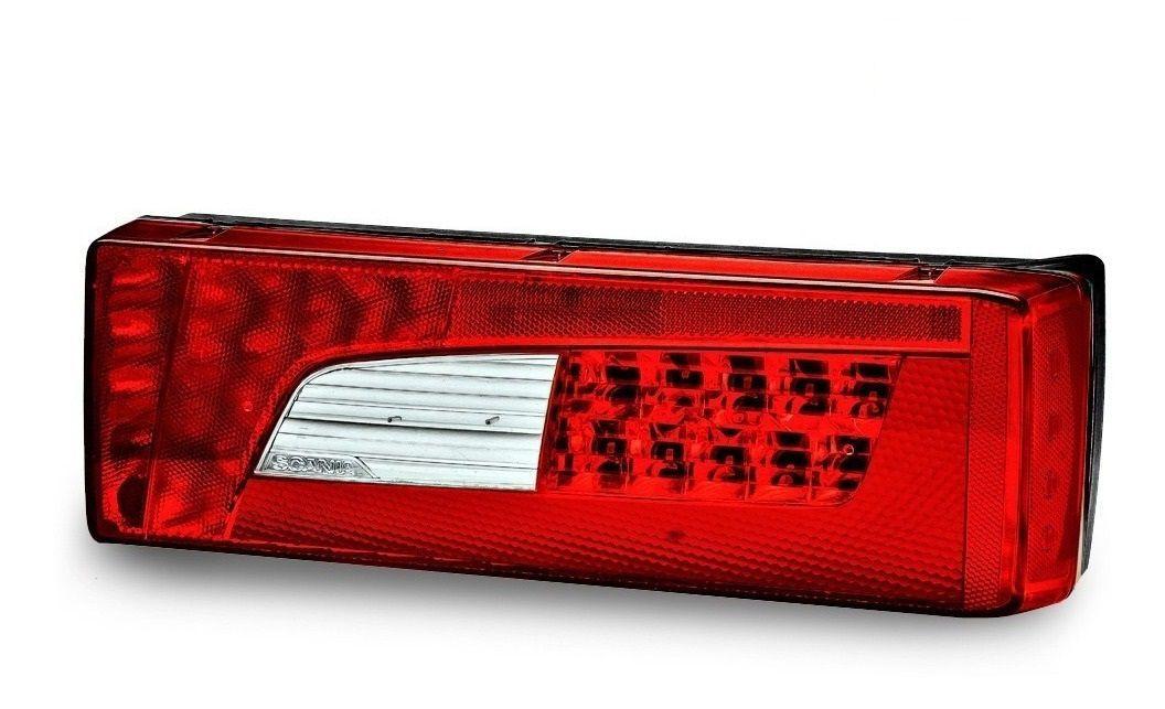 Lanterna Traseira Scania S5 S6 Serie 5 6 PGR P G R Streamline Lado Direito Sem Vigia