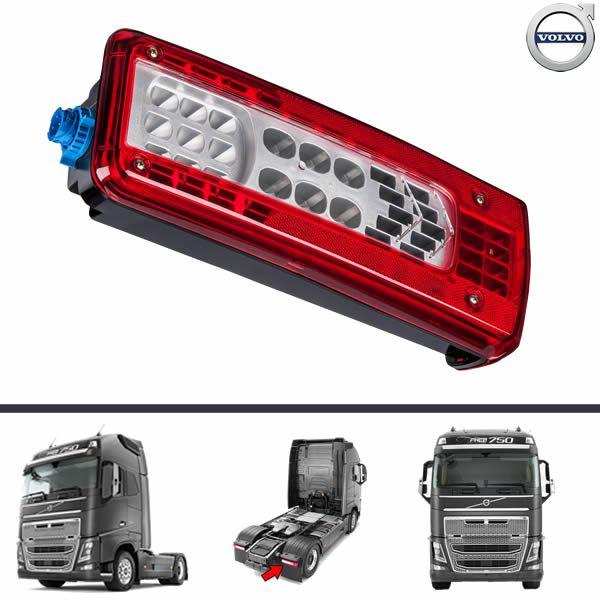 Lanterna Traseira Volvo FH16 FH VM FM 16 Após 2015 Sem Vigia Lado Direito