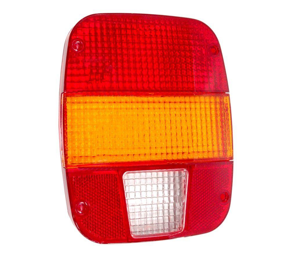Lente para Lanterna Traseira Caminhão Ford VW Troller Marmita