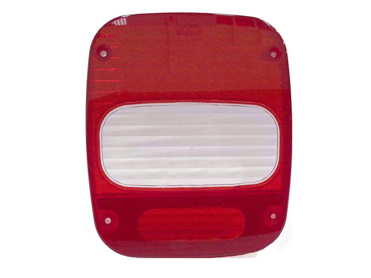 Lente para Lanterna Traseira Caminhão VW Troller Marmita Moderna