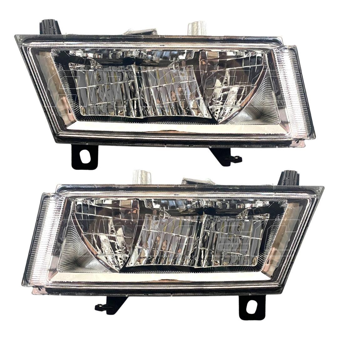 Par Farol Auxiliar Novo Scania LED S6 Serie 6 19 20 21 NTG