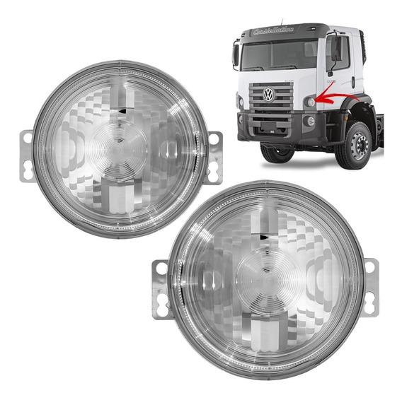 Par Lanterna Pisca Seta Frontal VW Constellation LD/LE Sem Soquete
