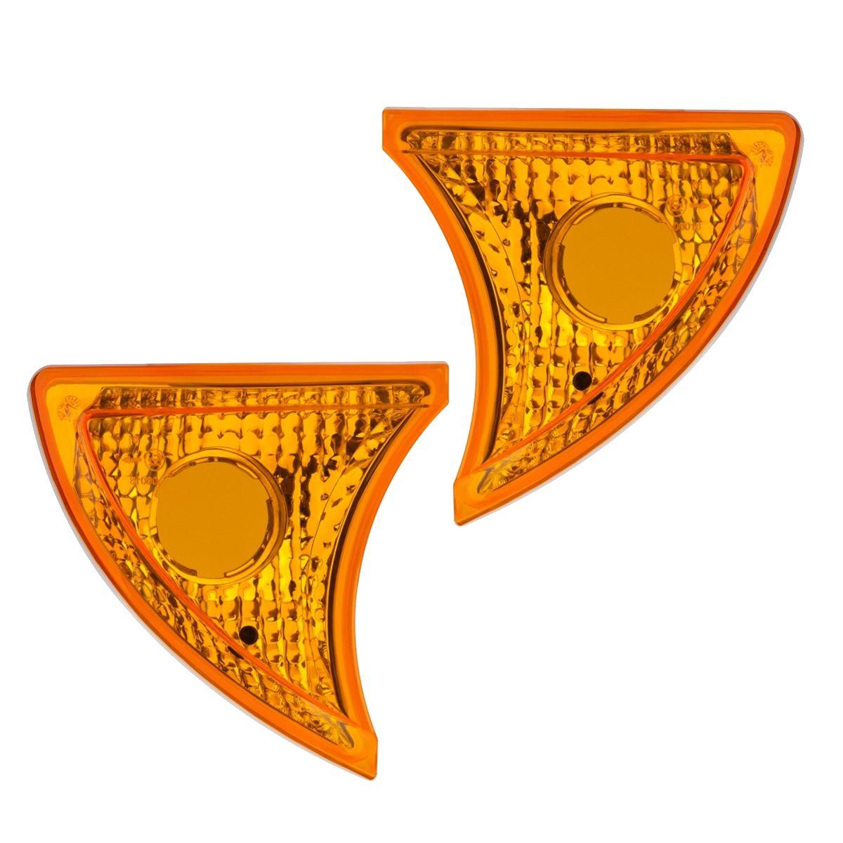 Par Lanterna Seta Pisca Iveco Stralis Tector Cursor Ap 2006 Amarela