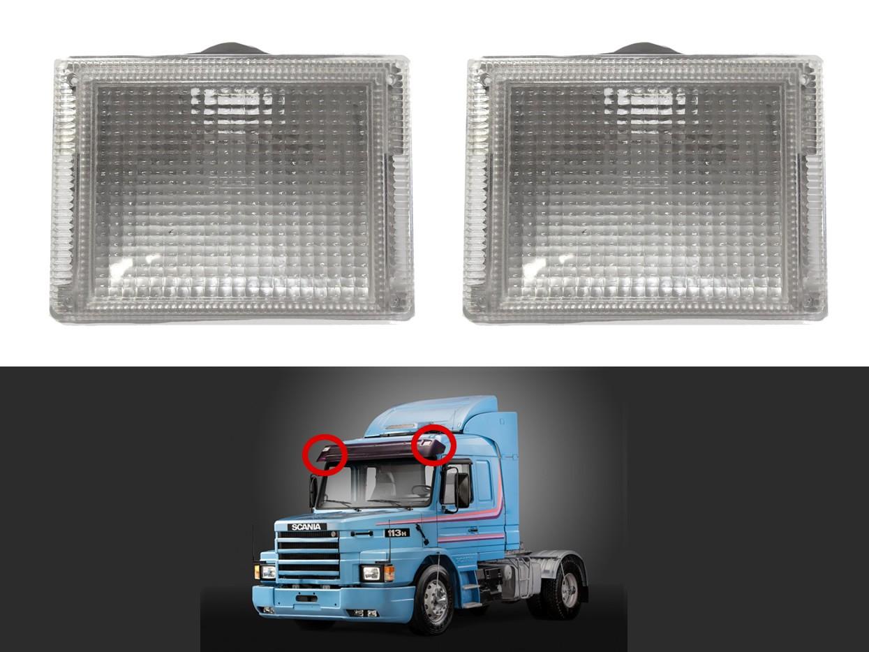 Par Lanterna Tapa Sol Scania T/R 113 143 Topline