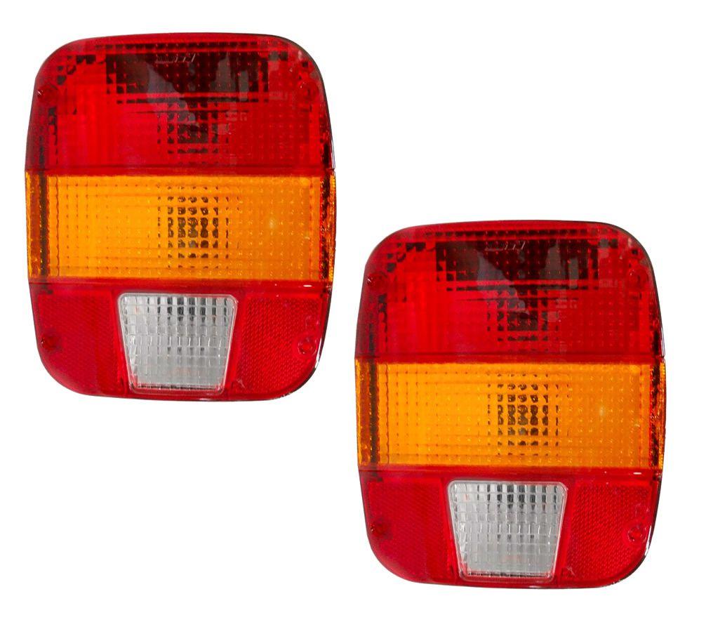 Par Lanterna Traseira Caminhão Ford VW Troller Marmita