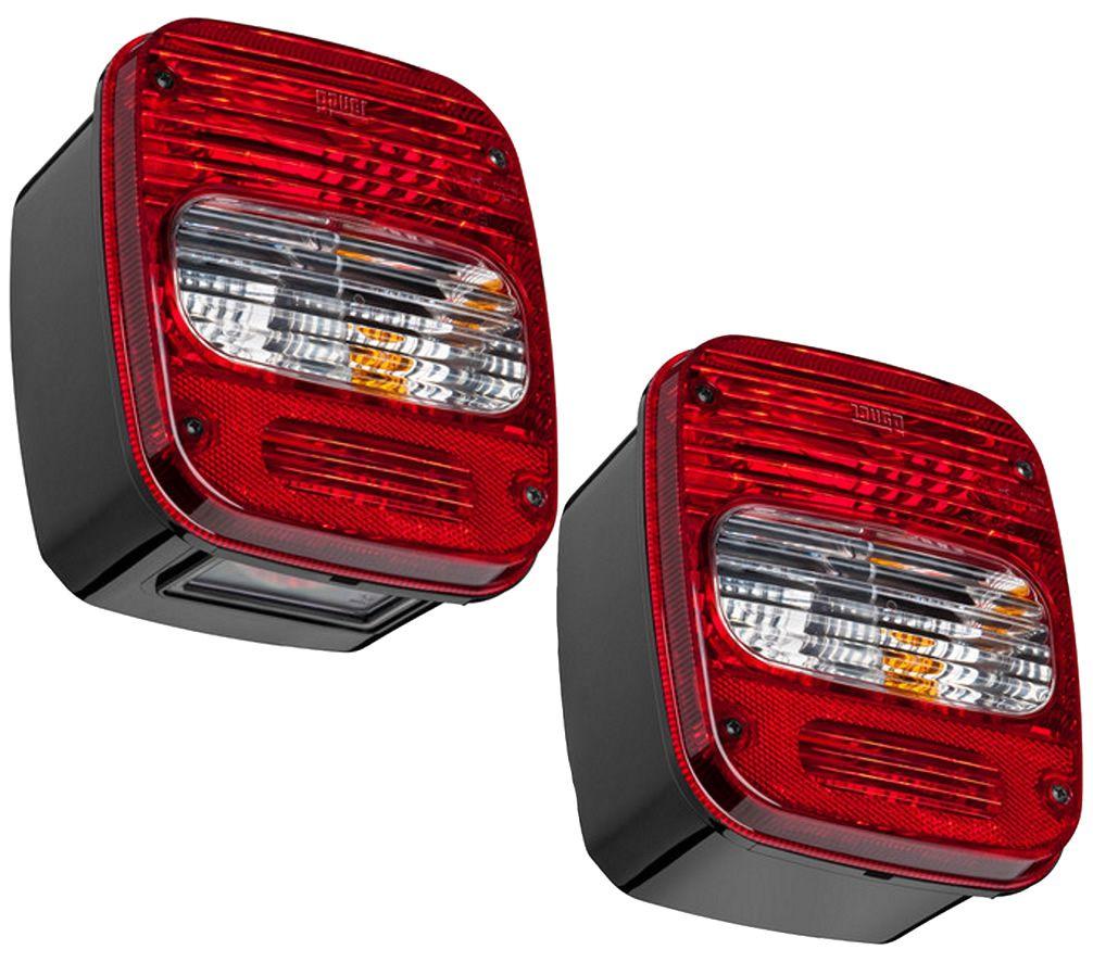 Par Lanterna Traseira Caminhão VW Troller Marmita Moderna