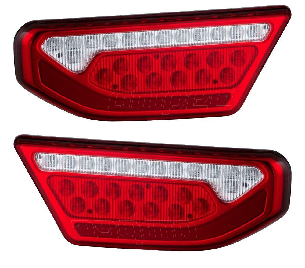 Par Lanterna Traseira Duct Braslux Rodotecnica Stara Adaptação LED Bivolt