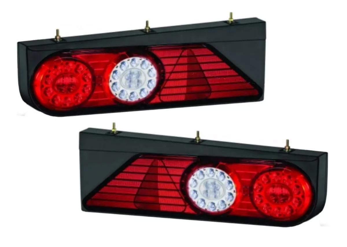 Par Lanterna Traseira Randon Completa LED Modelo 2011