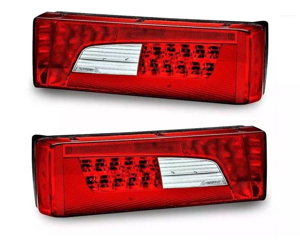 Par Lanterna Traseira Scania S5 S6 Serie 5 6 PGR P G R Streamline