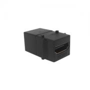 Conector HDMI Emenda Padrão Keystone - Preto